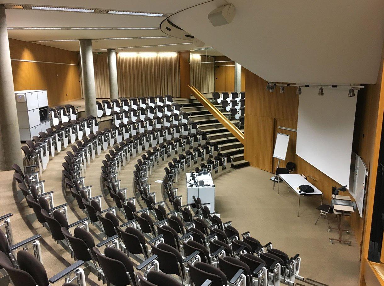 Referenzbild Berner Fachhochschule (BFH) Gesundheit, Auditorium