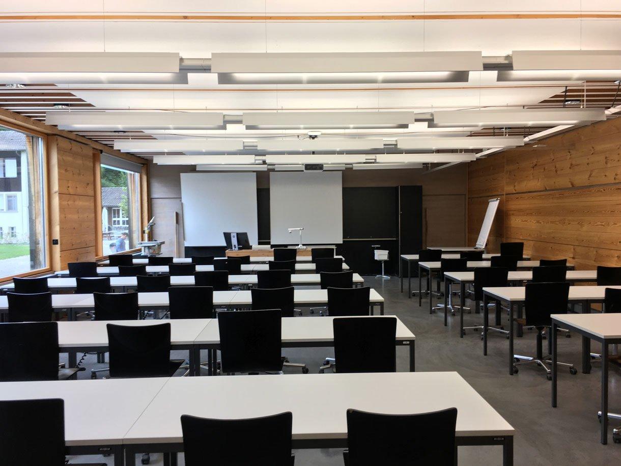 Referenzbild Berner Fachhochschule (BFH) Gesundheit, Schulzimmer