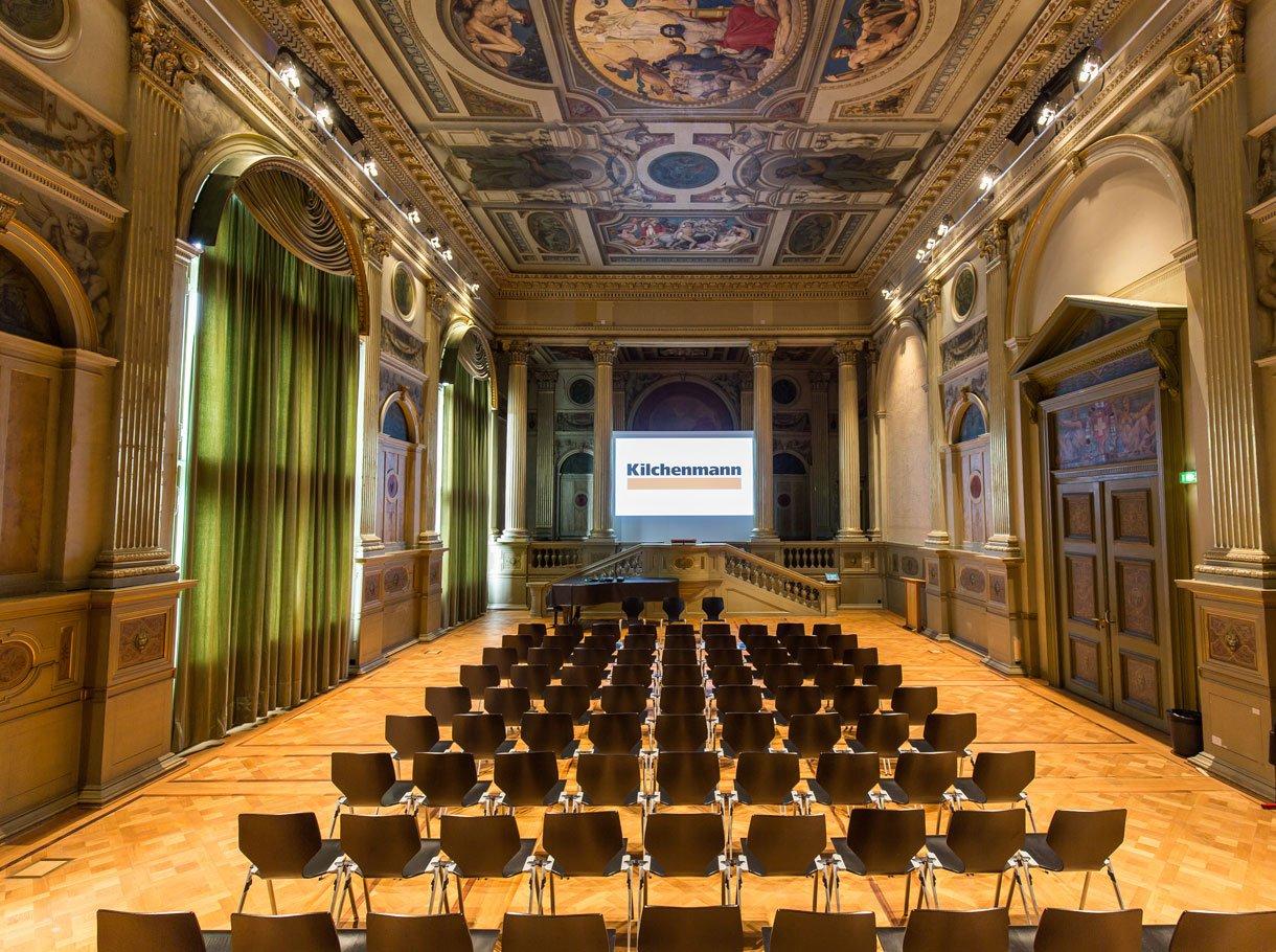 Referenzbild ETH Zürich, Hauptgebäude, Semper Aula HG G60