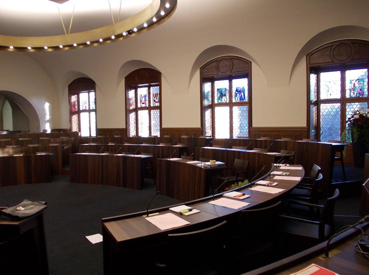 Referenzbild Kantonsratssaal, Solothurn