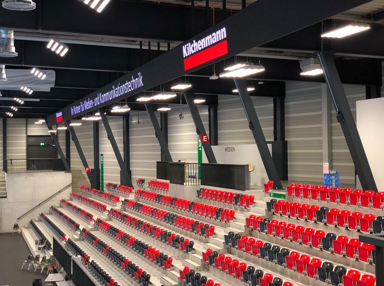 Referenzbild Mobiliar Arena Gümligen, LED