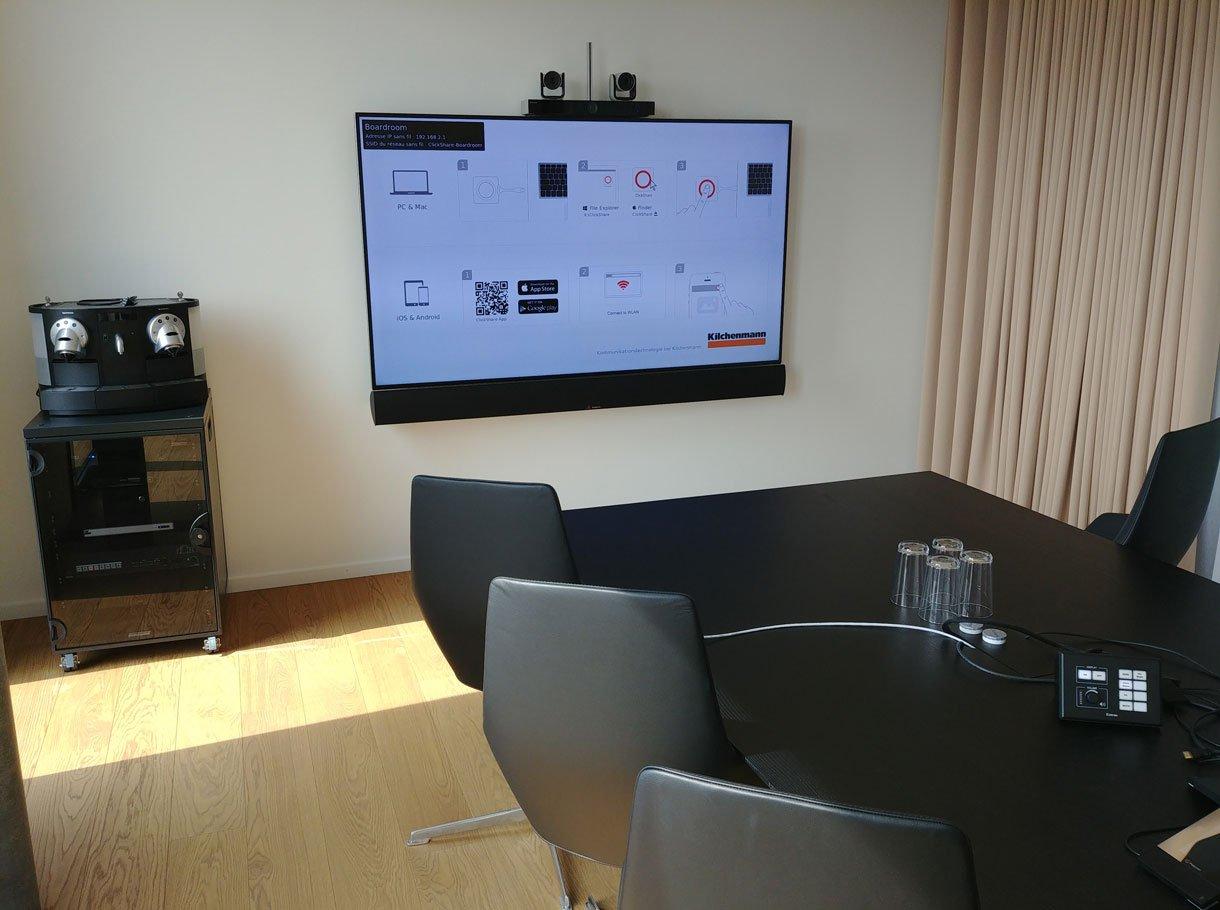 Referenzbild Patrimonium Asset Management AG, Sitzungszimmer