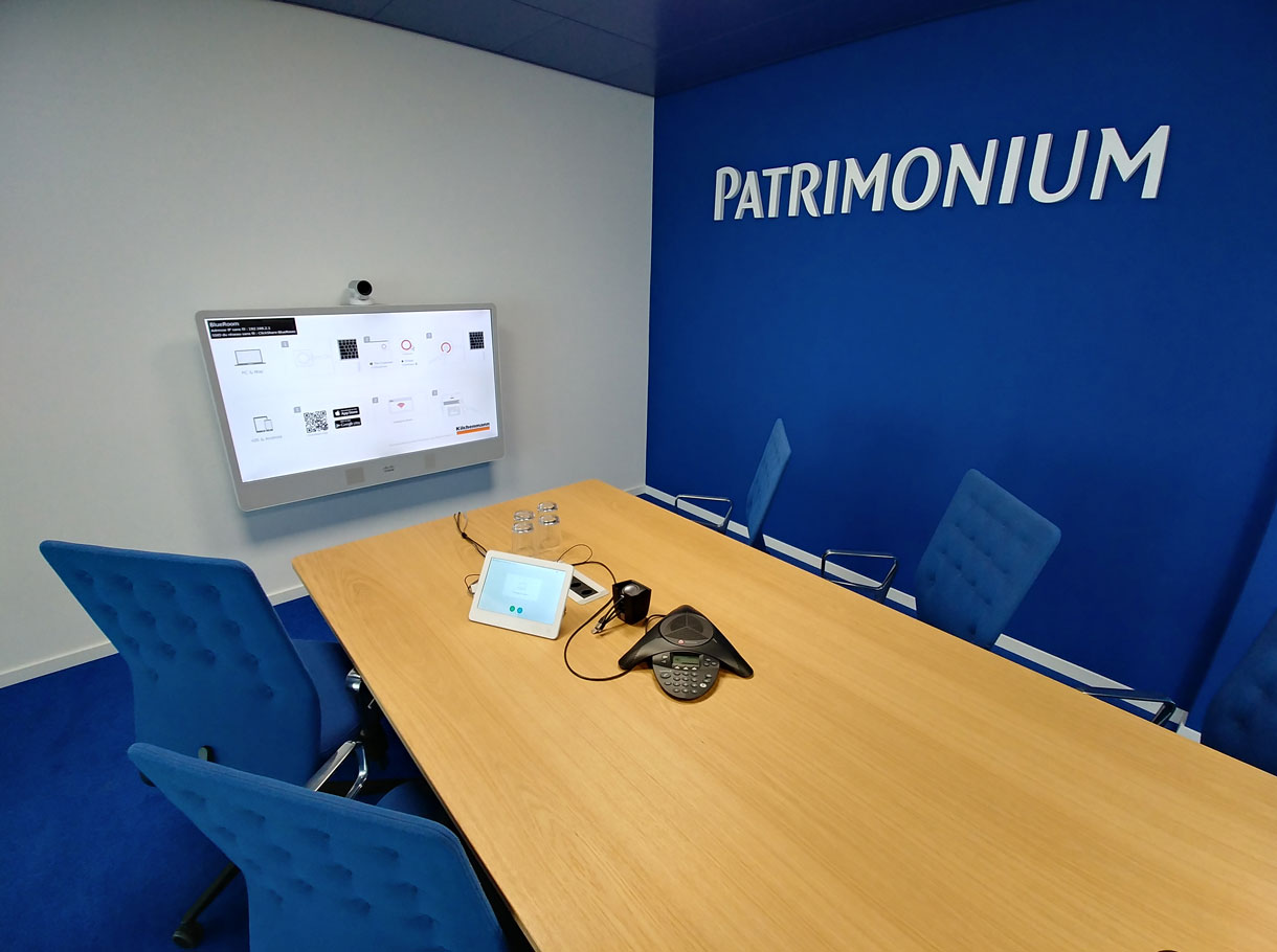 Referenzbild Patrimonium Asset Management AG, Boardroom