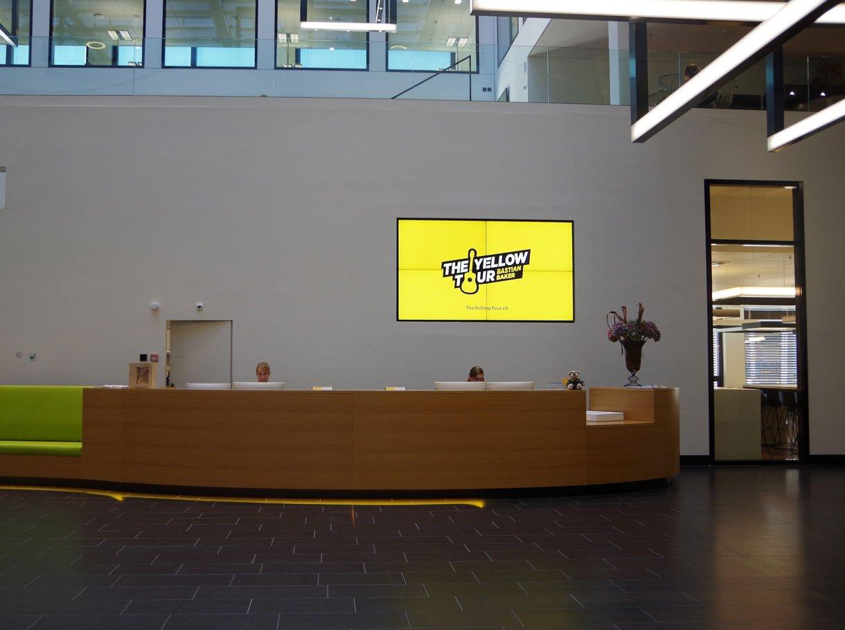 Referenzbild Hauptsitz Schweizerische Post – Auditorium, Bern