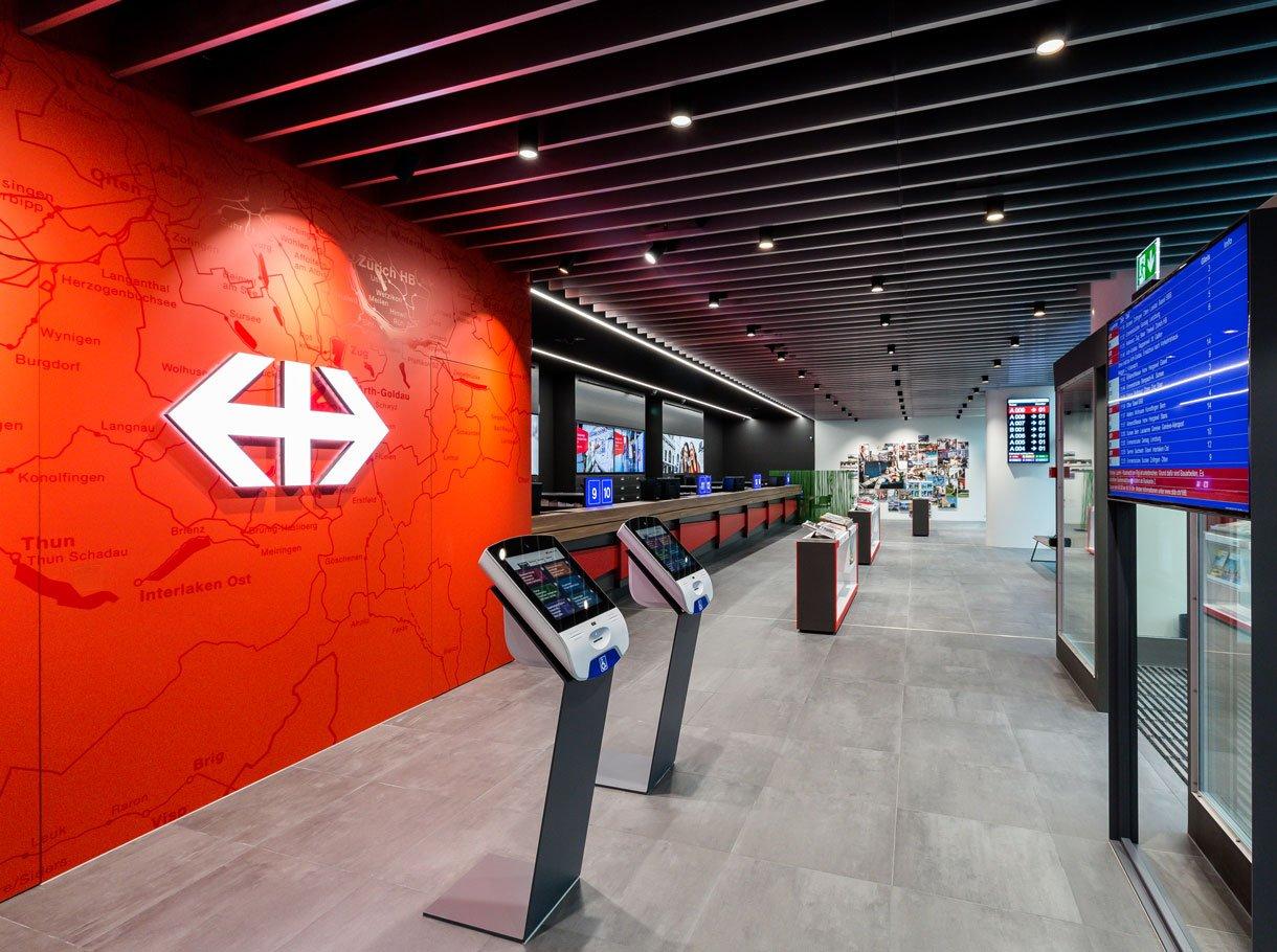 Referenzbild SBB Reisezentrum, Luzern