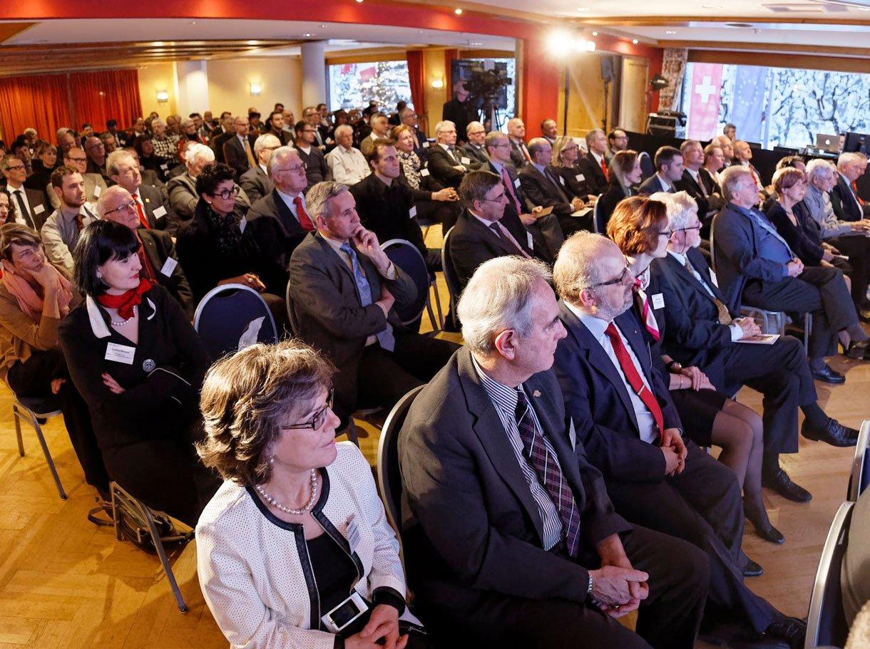 Referenzbild SGV Winterkonferenz Klosters, Zuschauer