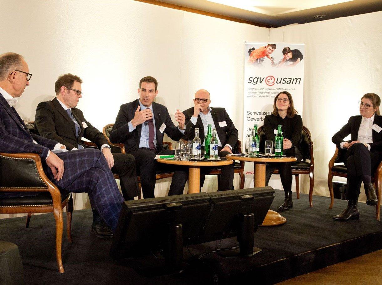 Referenzbild SGV Winterkonferenz Klosters, Referenten