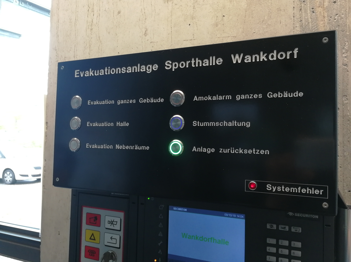 Referenzbild Sporthalle Wankdorf Bern