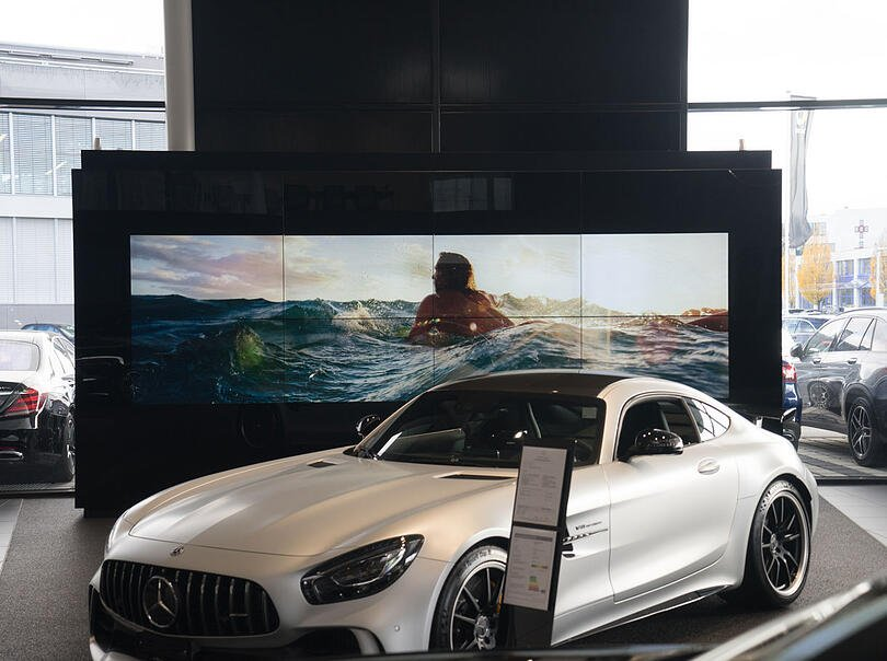 Referenzbild Mercedes Benz Auto Center, Zug