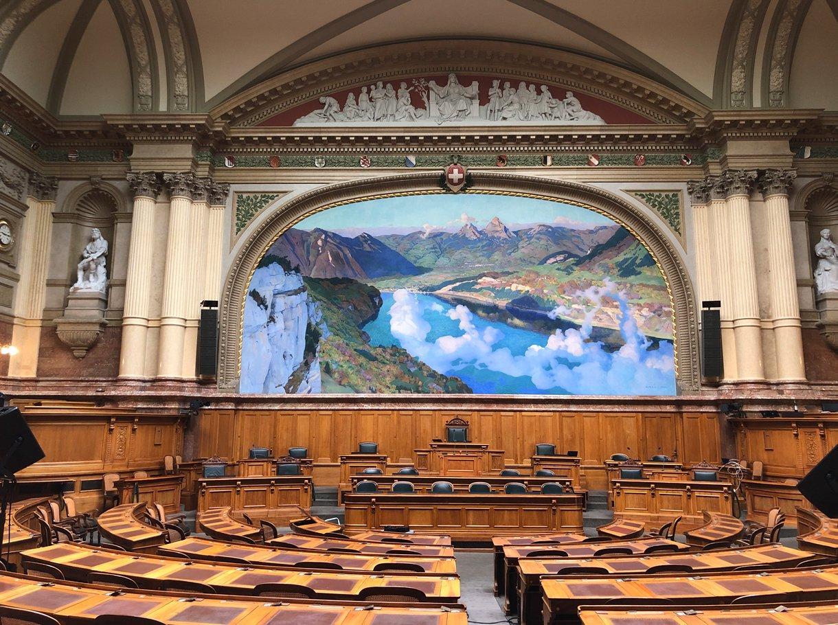 Referenzbild Bundeshaus Bern