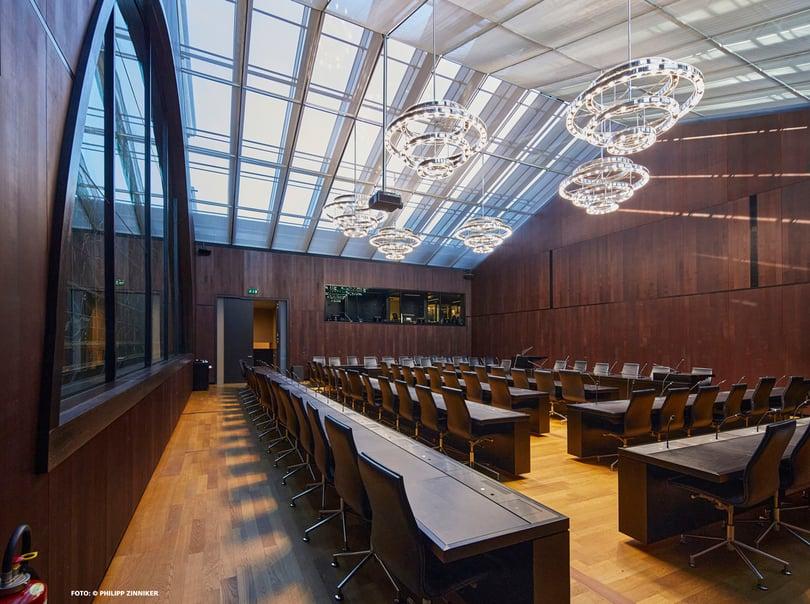 Referenzbild Bundeshaus Bern, Kommissionszimmer 301
