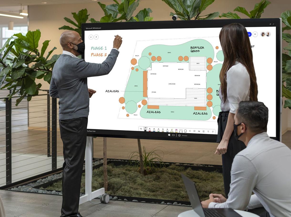 Microsoft Surface Hub 2S 85Zoll Collaboration