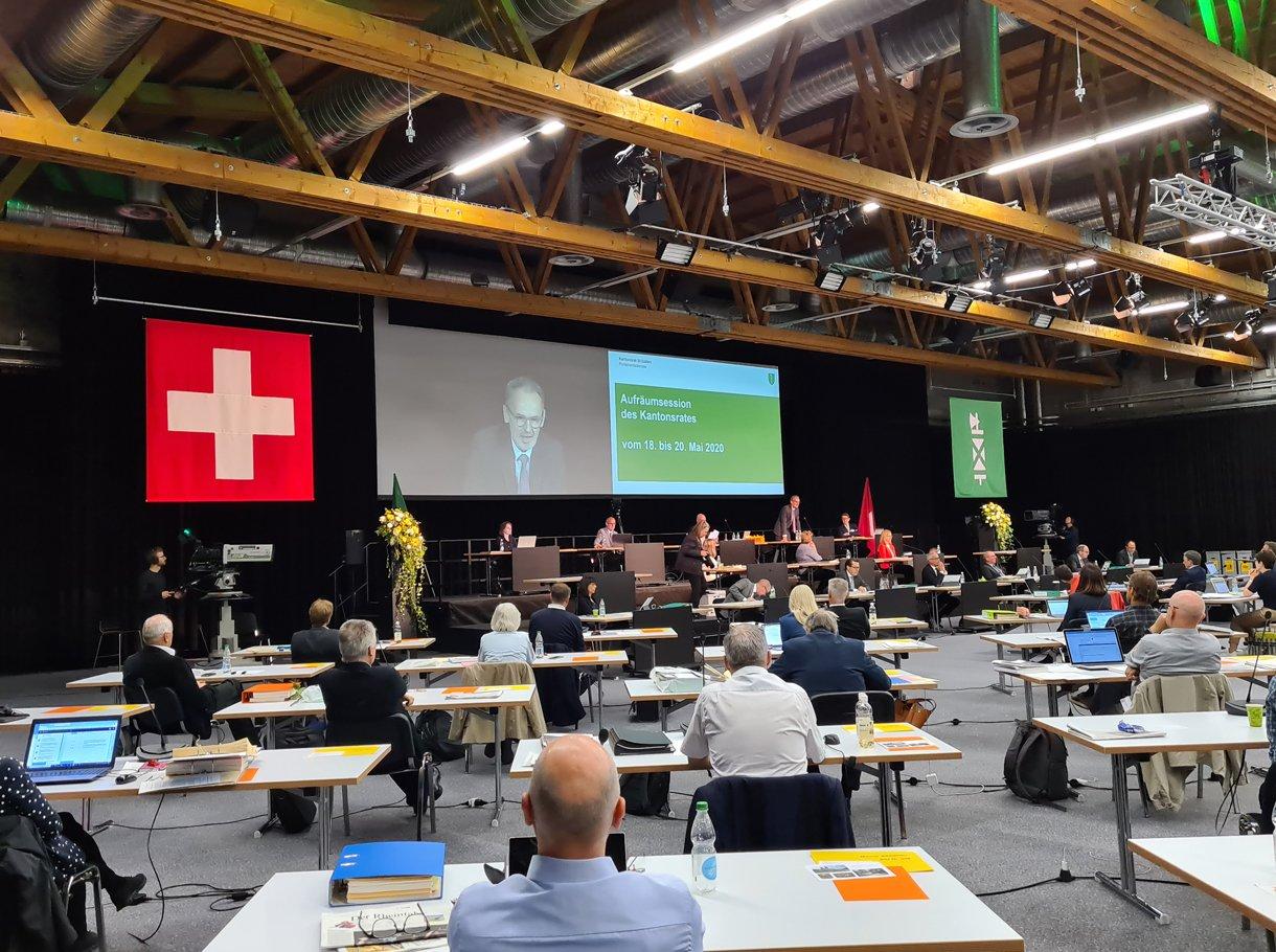 Referenzbild Kantonsrat Sondersession St. Gallen