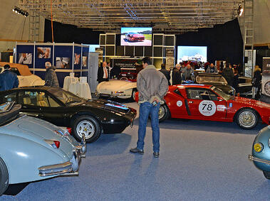 Referenzbild Classic Car Auction Gstaad