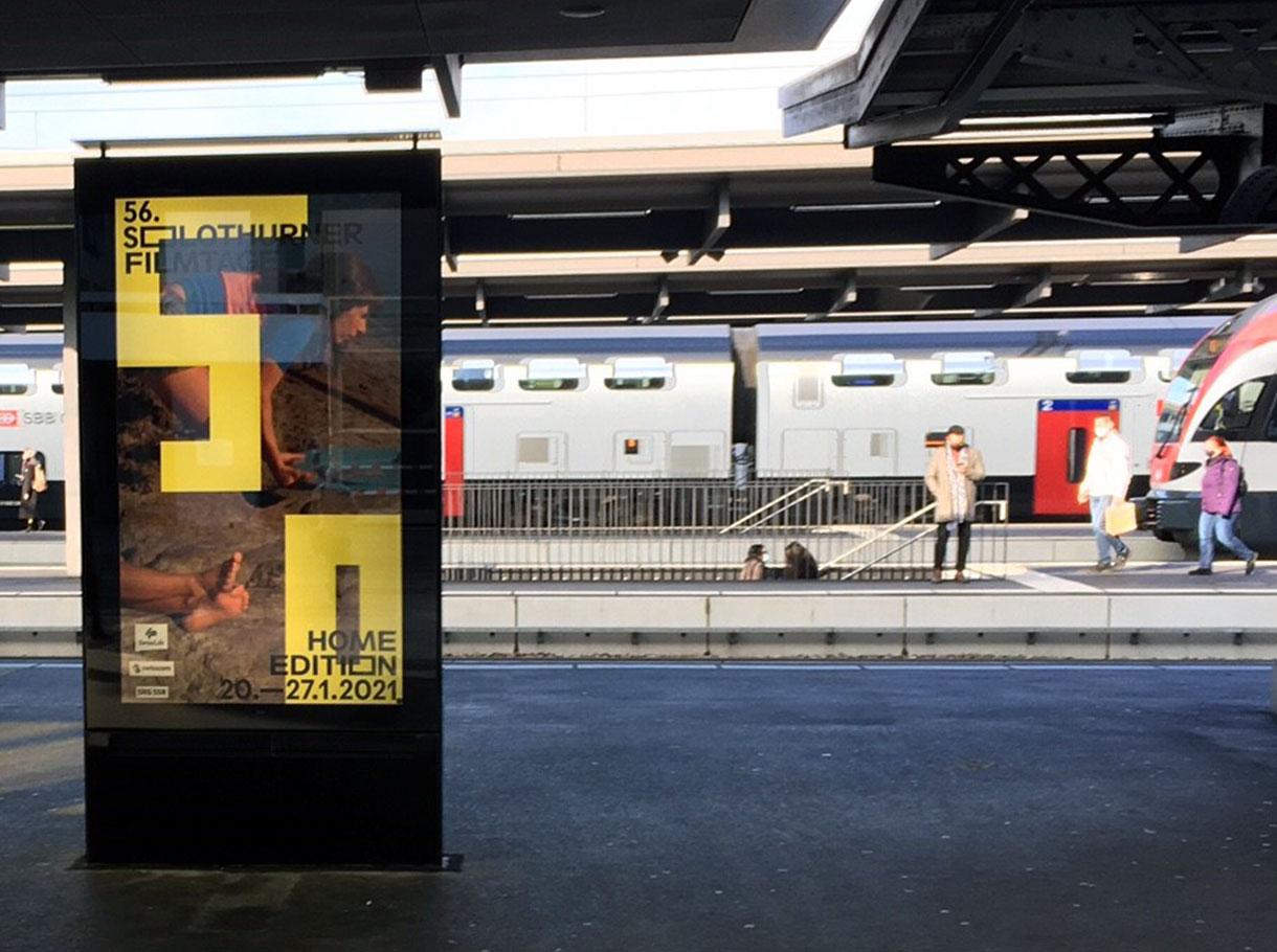 APG|SGA Allgemeine Plakatgesellschaft AG Rail-ePanel Zürich