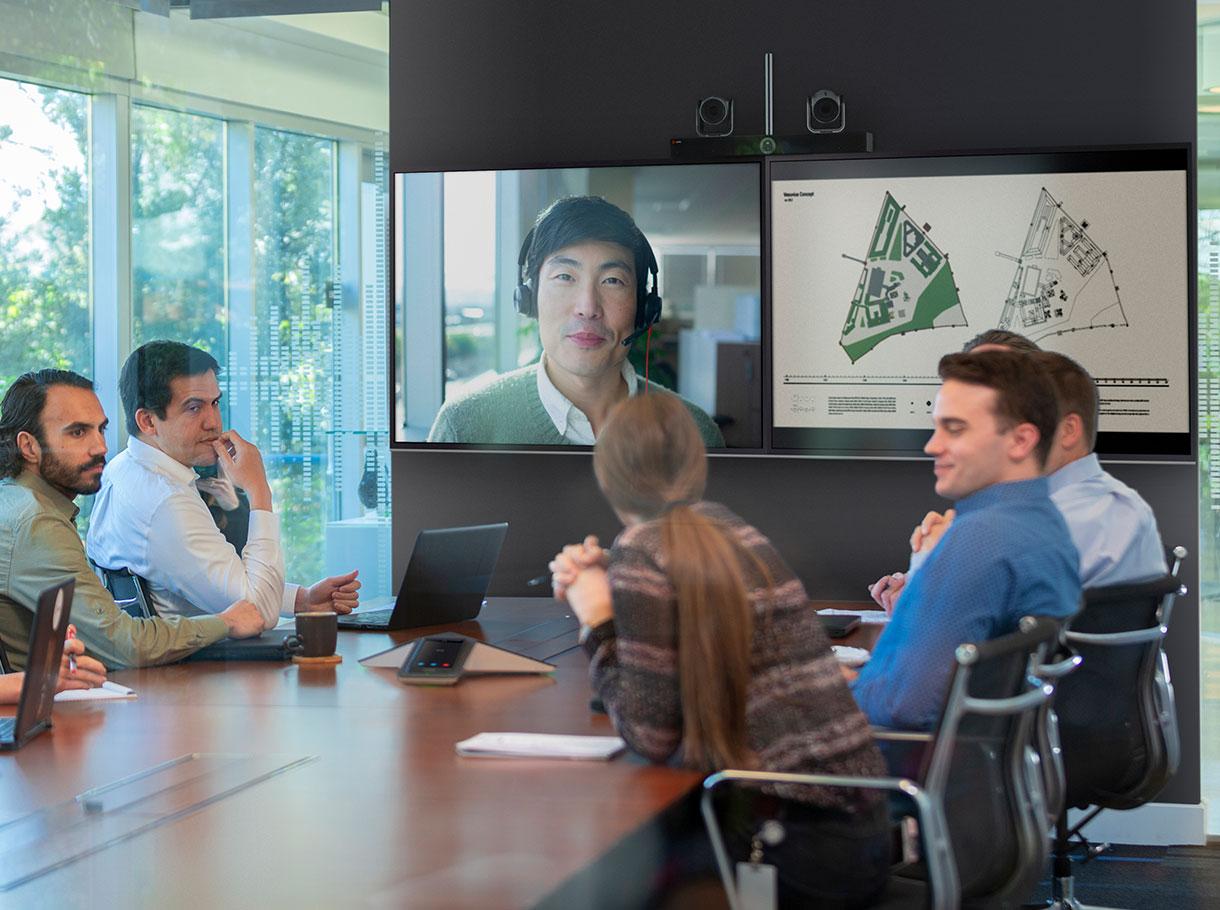 Die Poly G-Serie – Raum Systeme für Microsoft Teams